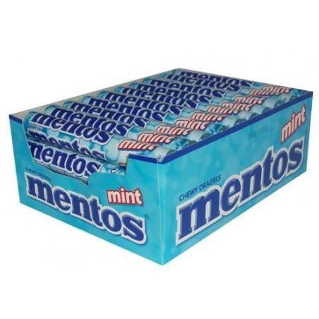 Mentos Menthe x 40 étuis