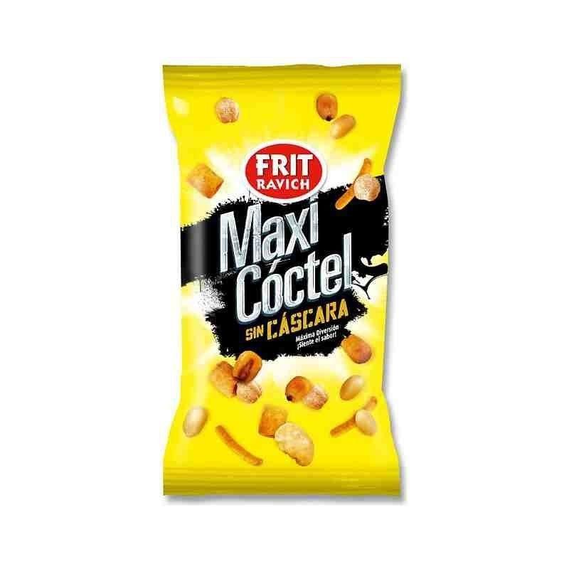 24 sachets Cocktail de cacahuetes frit et salée 45 gr