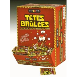 Bonbons Têtes Brûlées Cola x 300 pièces