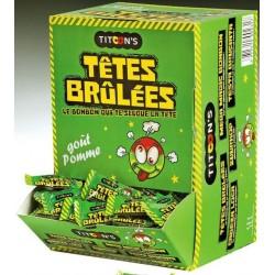 Bonbons Têtes Brûlées Pomme x 300 pièces