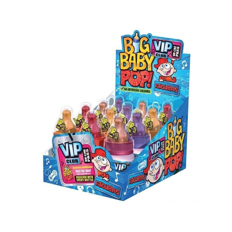 Big Baby Pop Favourites x 12 pièces