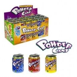 Power Cans x 36 Canettes avec poudre acidulée