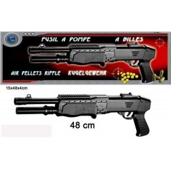 Fusil à Pompe à Billes 48 cm