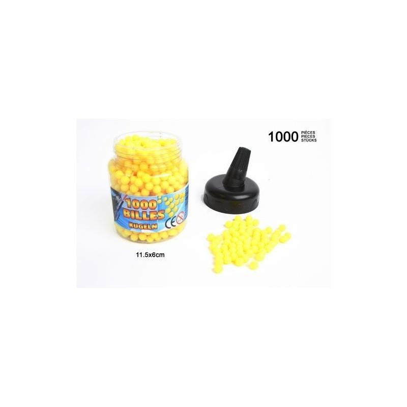 Biberon de 1000 billes jaunes