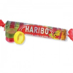 Pack Haribo Roulette Fruit x45p Haribo Roulette Cola 45p