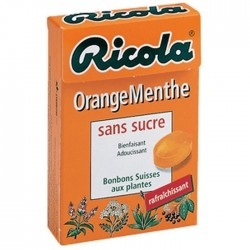 Ricola Orange Menthe x 20 Boites
