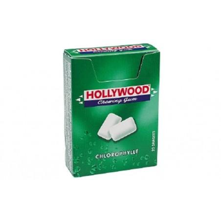 Hollywood Chewing Gum Parfum Chlorophylle 20 Etuis de 20 Dragées