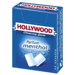 Hollywood Chewing Gum Parfum Menthol 20 Etuis de 20 Dragées