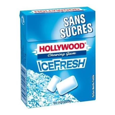 Hollywood Chewing Gum Ice Fresh 20 Etuis de 10 Dragées