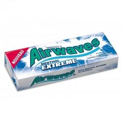 Airwaves Chewing Gum Menthol Extreme 30 Etuis de 10 Dragées