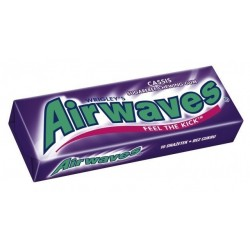 Airwaves Chewing Gum Cool Cassis 30 Etuis de 10 Dragées