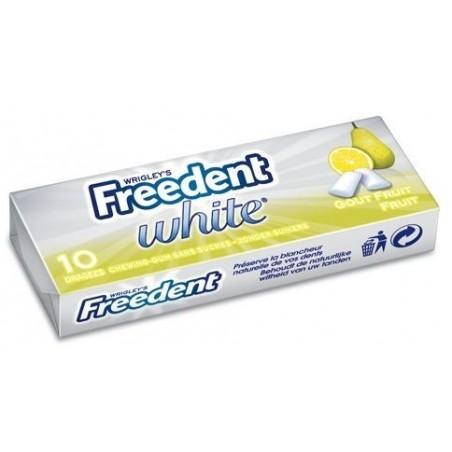Freedent White Chewing Gum Gout Fruit 30 Etuis de 10 Dragées