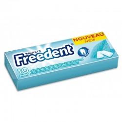 Freedent Chewing Gum Menthe Légère 30 Etuis de 10 Dragées