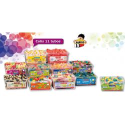 Lot de 11 Boites Bonbons Haribo