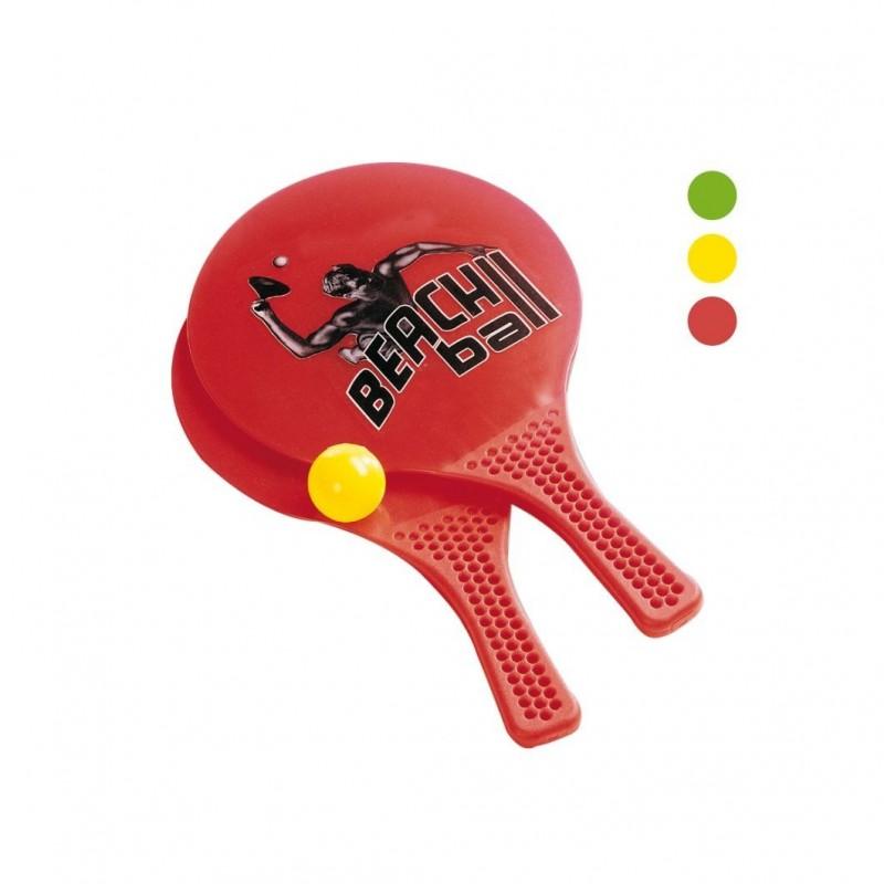 Raquettes de Beach Ball en plastique