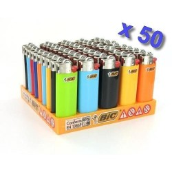 Briquet Mini Bic J25 x 50