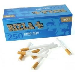 Boite de 250 tubes à cigarette Rizla + avec filtres x 4