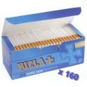 Lot de tubes à cigarette Rizla + avec filtres