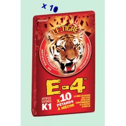 Pétard le Tigre E-4 x 5 Paquets