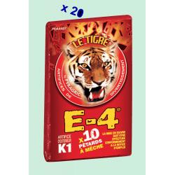 Pétard le Tigre E-4 x 10 Paquets