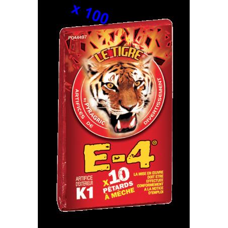 Pétard le Tigre E-4 x 20 Paquets