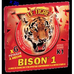 Pétard le Tigre Bison 1 x 20 Paquets