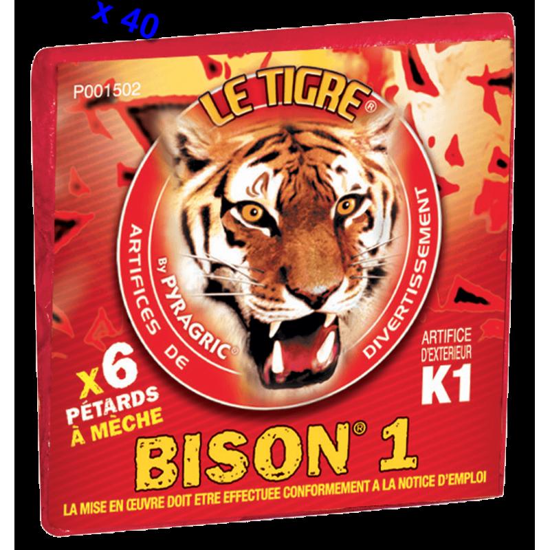 Pétard le Tigre Bison 1 x 40 Paquets