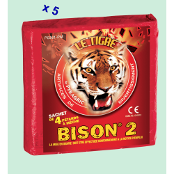 Pétard le Tigre Bison 2 x 5 Paquets