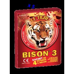 Pétard le Tigre Bison 3 x 5 Paquets