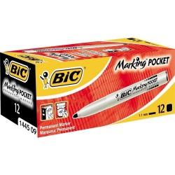 Marqueur Permanent Pocket Noir Bic
