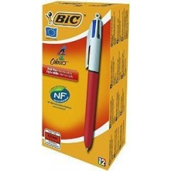 Stylo Bic 4 Couleurs