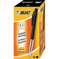 Stylo Bic M10 Clic Noir