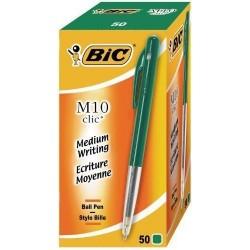 Stylo Bic M10 Clic Vert
