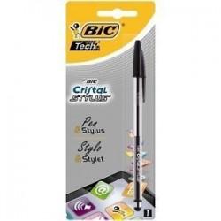 Stylo Bic Cristal Stylus Encre Noire