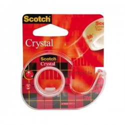 Ruban Adhésif Transparent Scotch Crystal 19 mm x 7.5 m