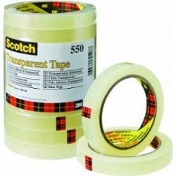 Ruban Adhésif Transparent Scotch 15 mm x 66 m