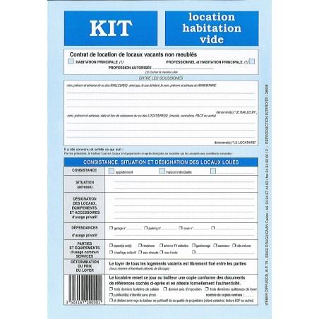 Kit Location Habitation Vide