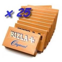 25 Carnets de Feuille à Rouler Rizla Original