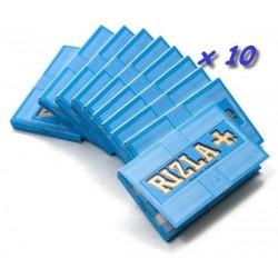 10 Carnets de Feuille à Rouler Rizla Bleu