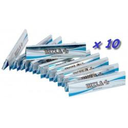 10 Carnets de Feuille à Rouler Rizla Micron Slim