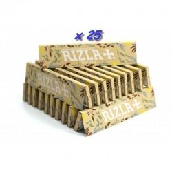 25 Carnets de Feuille à Rouler Rizla Natura Slim