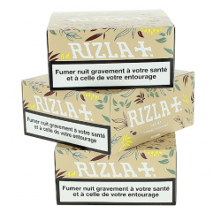 Pack de 3 Boites Rizla Natura Slim