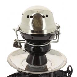 Chicha Lampe à Pétrole LED Noire