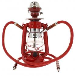 Chicha Lampe à Pétrole LED Rouge