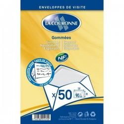 50 Enveloppes de Visite Gommées