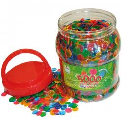 5000 Pions de Loto Multicolores
