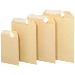 500 Enveloppes Kraft 16 x 22 cm