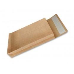 10 Enveloppes Kraft à Soufflet 22 x 32 cm