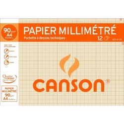 Pochette Canson Papier Millimétré