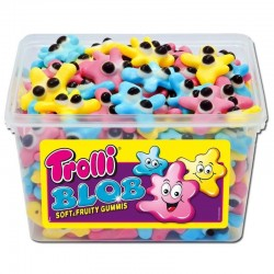 Tubo Trolli Blob x 150 pièces